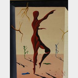 Jorge Noceda Sanchez (Dominican, 1931-1987)      Emotion