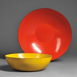 Jade Snow Wong Bowl and an Unmarked Bowl