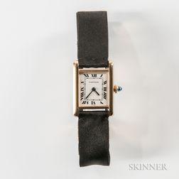 Cartier Tank 18kt Gold Manual-wind Wristwatch