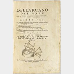 Dudley, Sir Robert (1573-1649) Dell'Arcano del Mare.