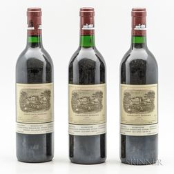 Chateau Lafite Rothschild 1989, 3 bottles