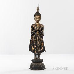 Gilt-bronze Statue of Buddha