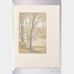 Ruzicka, Rudolph (1883-1978) Newark, a Series of Engravings on Wood.