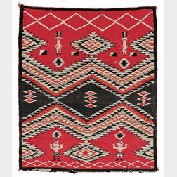 Navajo Pictorial Germantown Weaving