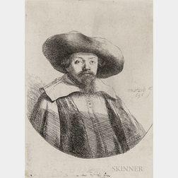 Rembrandt van Rijn (Dutch, 1606-1669)      Samuel Manasseh Ben Israel