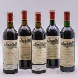 Chateau Calon Segur, 5 bottles