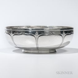 Arthur Stone Sterling Silver Bowl