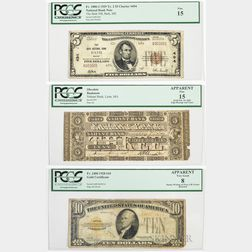Three Bank Notes
