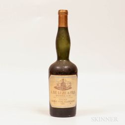 A. De Luze & Fils Grand Fine Champagne 1884, 1 bottle