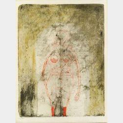 Rufino Tamayo (American, 1899-1991)  Femme en Rouge