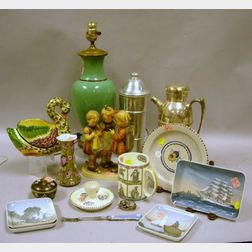 Group of Miscellaneous Decorative and Collectible Items