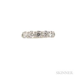 """18kt White Gold and Diamond """"Cento"""" Ring, Roberto Coin"""