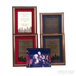 Little Jimmy Dickens     Four Porter Wagoner Celebrity Fest Plaques