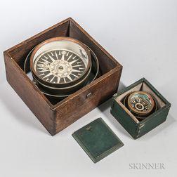Samuel Emery Gimbaled Ship's Compass