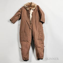 Imperial Japanese Fur-lined Flight Suit