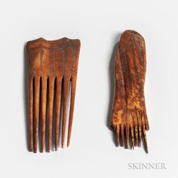 Two Eskimo Combs