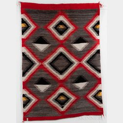 Navajo Transitional Woven Textile