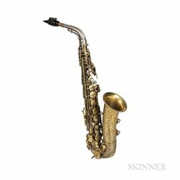 Alto Saxophone, C.G. Conn 6M Transitional, 1933