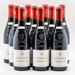 Beaurenard (Paul Coulon) Chateauneuf du Pape 2010, 10 bottles