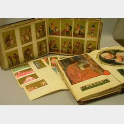 Two and a Half Scrap and Trade Card Albums