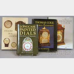 Four Titles on English Clockmaking