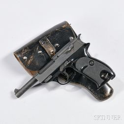 Walther P38, Holster, and a Spare Magazine