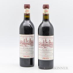 Chateau Cos dEstournel 1982, 2 bottles