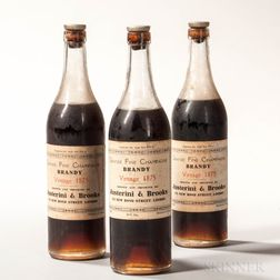 Grand Fine Champagne Brandy 1875, 3 24oz bottles