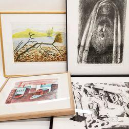 Five Framed Marcia Wasserman Prints