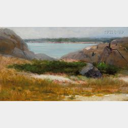 Helen Mary Knowlton  (American, 1832-1918)      Rockbound Coast