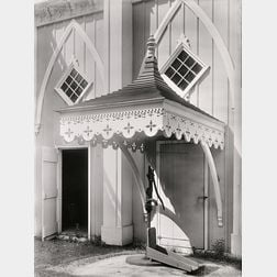 Walker Evans (American, 1903-1975)      Maine Pump (Kennebunk, Maine)