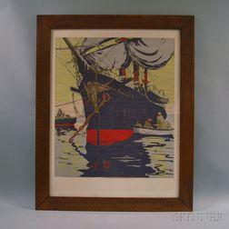 American School, 20th Century      Fisherman and Boat