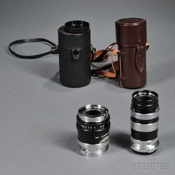 Two Lenses for Nikon Rangefinder Camera