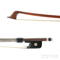 German Nickel Silver-mounted Cello Bow