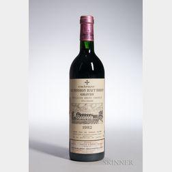 Chateau La Mission Haut Brion 1982, 1 bottle