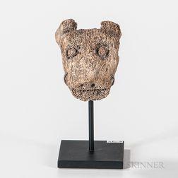 Eskimo Whalebone Amulet