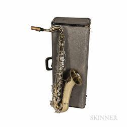 Tenor Saxophone, C.G. Conn Artist 10M, 1958