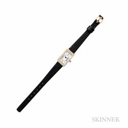 Lady's 18kt Gold and Diamond Wristwatch, Chopard