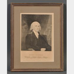 After Gilbert Stuart (American, 1755-1828)      James Madison