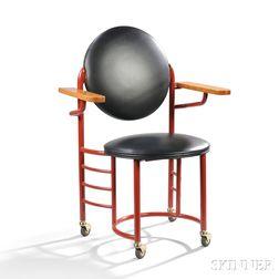 Frank Lloyd Wright Johnson Wax Chair