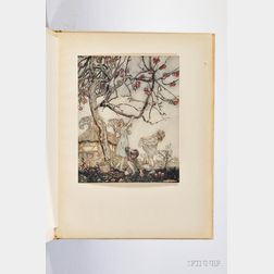 Phillpotts, Eden (1862-1960) A Dish of Apples,   Illustrated by Arthur Rackham, Signed by Author and Artist.