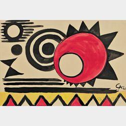 Alexander Calder (American, 1898-1976)      Eclipse