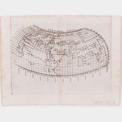 World and Europe, Nine Early Maps.