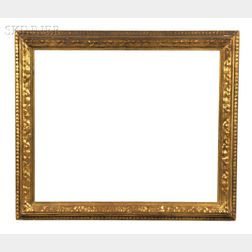 Attributed to Prendergast Studios (American, 20th/21st Century)      Arts & Crafts Carved Picture Frame