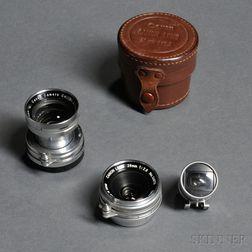 Two Canon Rangefinder Lenses