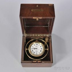 "Elgin ""Father Time"" Marine Chronometer"