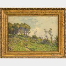 William Jurian Kaula (American, 1871-1953)      Windswept Hillside.
