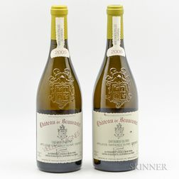Chateau de Beaucastel, 2 bottles