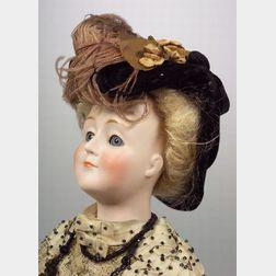 Kestner 172 Gibson Girl Shoulder Head Doll