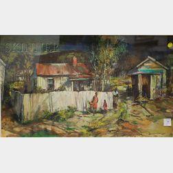 Carl Frederick Gaertner (American, 1898-1952)      Tobacco, Tin & Whitewash